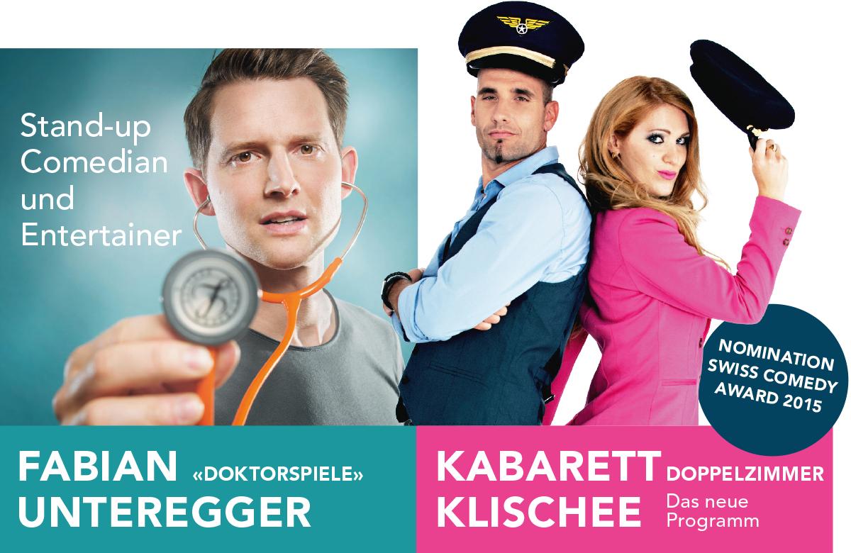 SLF Comedy 2016: Fabian Unteregger und Kabarett Klischee