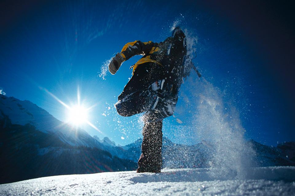 Geführte Schneeschuhtouren und Vermietung von Material: Sport&Fun Kandertal